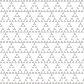 Tribal triangle in Grey