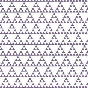 Tribal Triangle in Purple