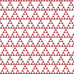 Tribal Triangle in Coral