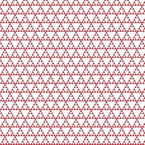 Tribal Triangle in Coral - SMALL