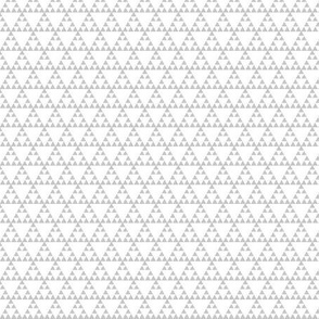 Tribal Triangle in Grey - SMALL