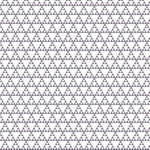 Tribal Triangle in Purple - SMALL