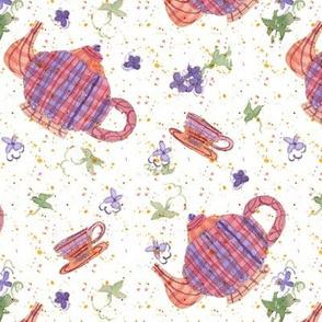 Purple Flower Tea