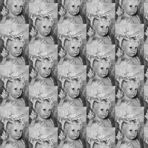 Iris Princess 6 - Neutral Grey Gray Princess Print, Angel, Fairy, large scale