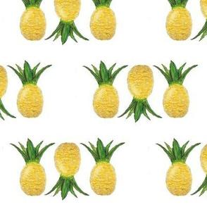 Pineapple Upsidedown print