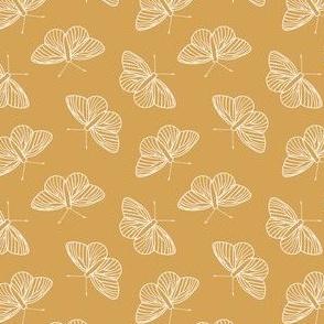 White Butterflies, Butterfly mustard