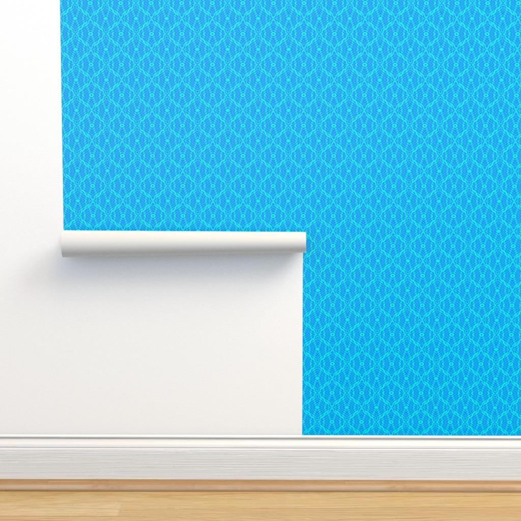 Isobar Durable Wallpaper featuring #SAGE WOD - World Ocean Day Blue Oceans by gargoylesentry
