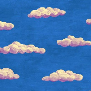 painted clouds - bedtime