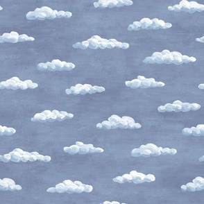 tiny painted clouds