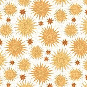 Geometric Cactus Flowers (Daybreak)