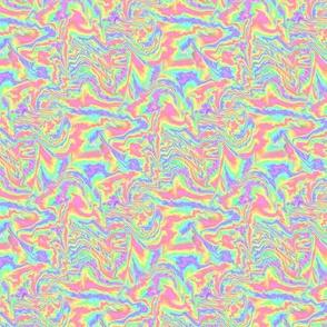 Marbled Pastel Rainbow