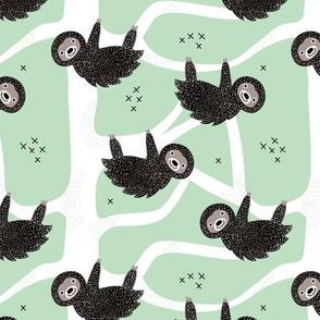 Sweet pura vida costa rica jungle animals sloths mint