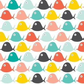 Follow the tide - fish geometric