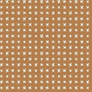 Cross-Stitch | Caramel Tan