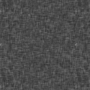 dark grey solid linen