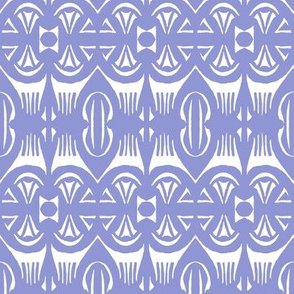 Tropical Drum Print  - Lavender