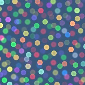 small bokeh lights - Christmas Morning