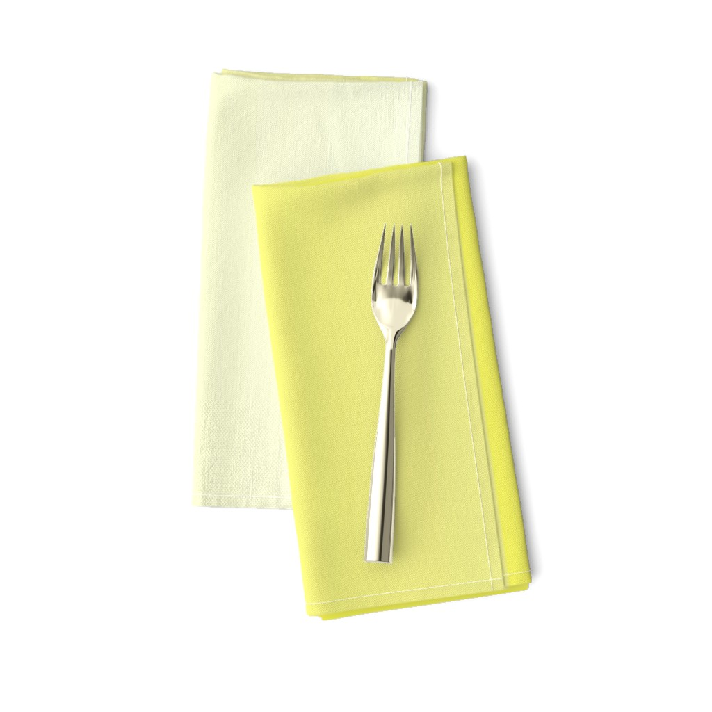 Amarela Dinner Napkins featuring Happy Yellow Ombre by shopcabin
