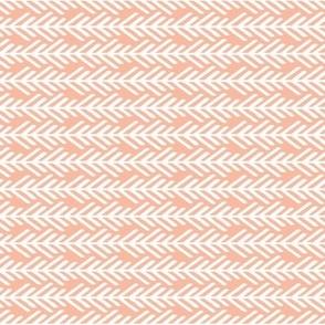 Peach / Pink / Coral Arrows Sideways