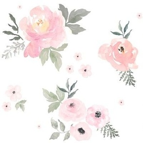 """8"""" Sweet Blush Roses"""