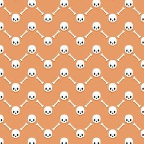 Skulls and bones chevrons