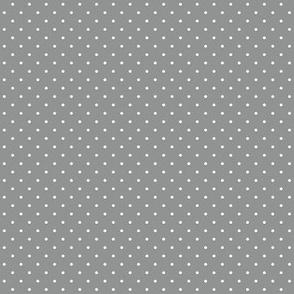 Grey polka dots for cute skulls