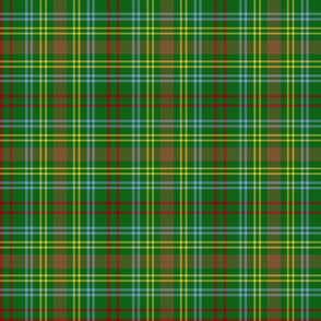 "O'Brien tartan, 6"" modern colors"