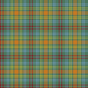 "O'Brien tartan, 6"" ancient colors"