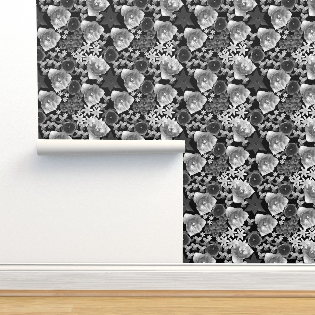 Isobar Durable Wallpaper featuring Tulips and more by ruthjohanna