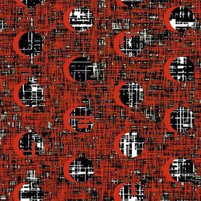 Jackson Pollock's drip blood moons by Su_G_©SuSchaefer