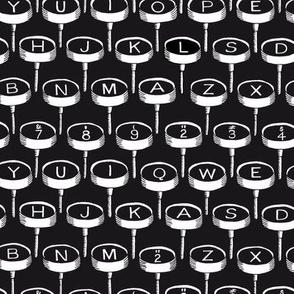 Infinite Typewriter: Bg. Black