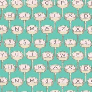 Typewriter: Bg Green