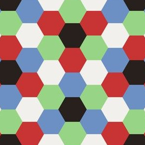05614835 : R6V 54 : fifties harlequin