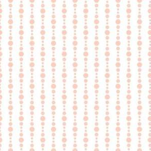 Abstract pink dots