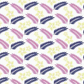 Floral Birds Hawaiian Print