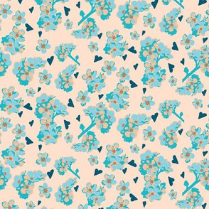 Cream forget me not Rozanne