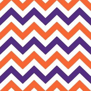 Orange and purple team color_Chevron