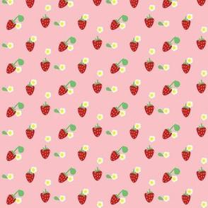 strawberry blossom ©2016 Jill Bull