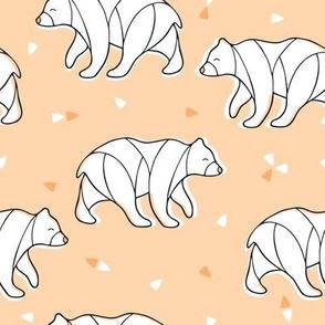Happy Bear outline