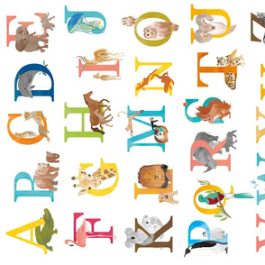 Animal ABC for kids - alphabet letters