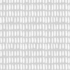 O B L O N G | white w/ gray