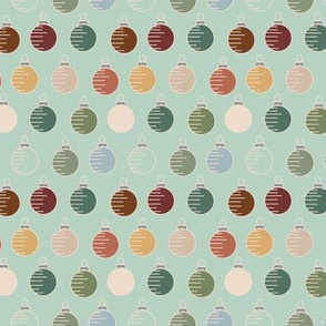 16-22D Muted color ornaments_Miss Chiff Designs