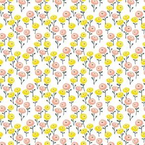 field of little flowers
