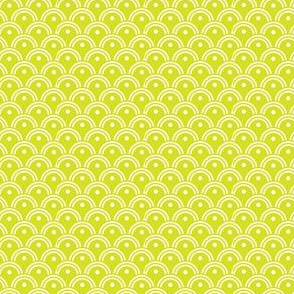 16-16J Spring Lime Green Scales waves clouds_Miss Chiff Designs