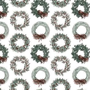 Little Christmas Wreaths