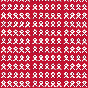 Red Background Odal Othalla Rune Repeat