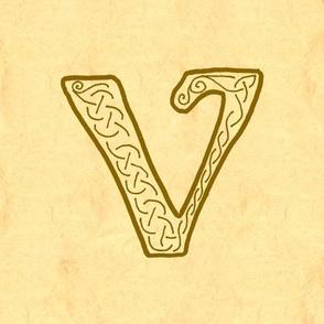 V-parchment-Aleph 1