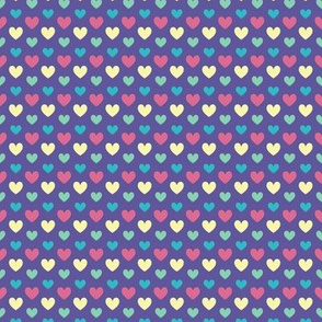 Tiny hearts for squid love