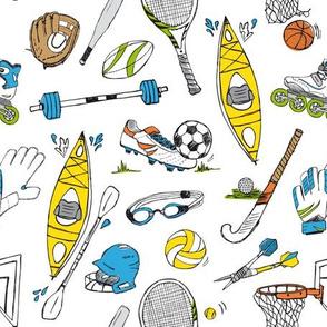 Get active - sports