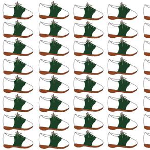 Saddle Shoe-Green